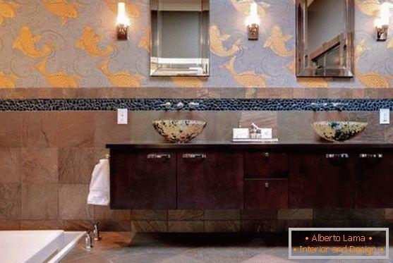 20 façons de décorer une salle de bain de style asiatique