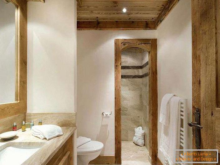 Un bain spectaculaire de style chalet (55 intérieurs