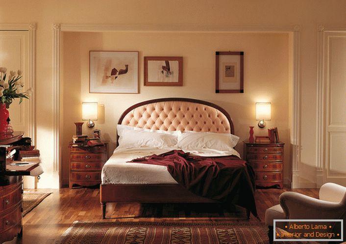 Chambre classique de style anglais (59 intérieurs exquis)