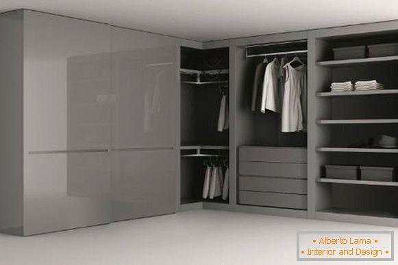 Armoire d'angle design