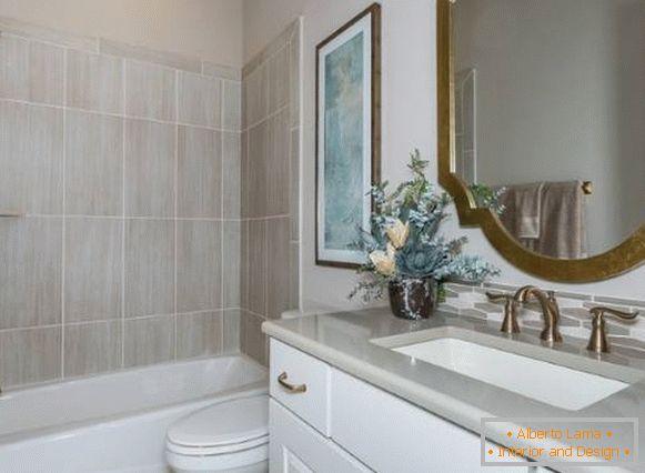 Design moderne de la salle de bain - idées et photos 2016