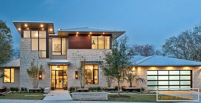 Une maison de luxe confortable au Texas de Cornerstone Architects
